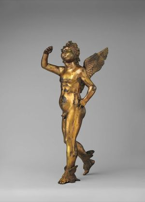 Donatello-circle-Sprite-c1432-gilt-bronze-Met