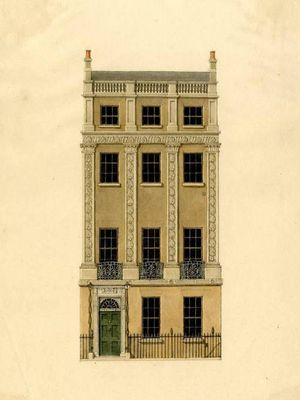 Nash-Frederick-Garrick-house-Adelphi-Terrace-c1800-17-wc-BM