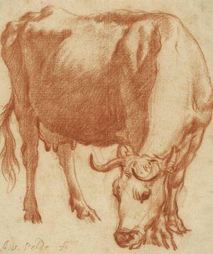 Van-de-Velde-Adriaen-Cow-Grazing-c1663-Gettyc