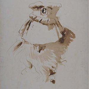 Tiepolo-Giambattista-Head-Hat-18c-drawing-Ashmolean-Square