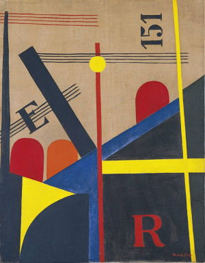 Moholy-Nagy-László-Large-Railway-Painting-1920-oil-on-canvas-Museo-Thyssen-Bornemisza