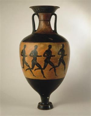 Greek-amphora-panathénaïque-4th-cent-BC-Musée-Sèvres