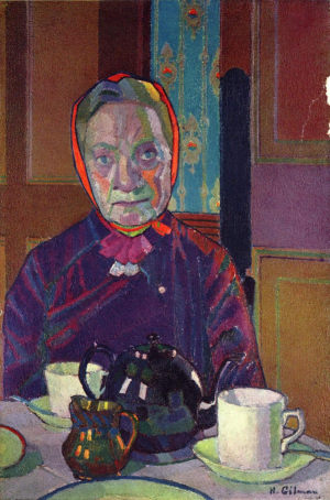 Gilman-Harold-Mrs-Mounter-at-the-Breakfast-Table-1916-canvas-Tate-Britain
