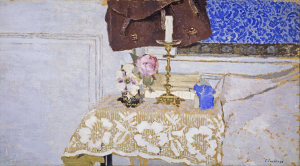 Vuillard-Édouard-Nature-morte-au-bougeoir-(The-Candlestick)-1900-oil-on-millboard-National-Gallery-of-Scotland-Edinburgh
