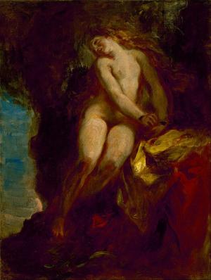 Delacroix-Eugène-Andromeda-1852-oil-on-canvas-Museum-of-Fine-Arts-Houston