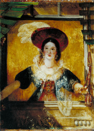 Turner-Joseph-Mallord-William-Jessica-(from-the-Merchant-of-Venice)-c1830-oil-on-canvas-Tate