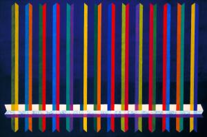 Dorazio-Piero-Very-Sharp-1965-oil-on-canvas-Tate