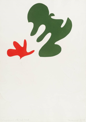 Sydney-Berenice-Monoprint-with-Red-Hand-1973-monoprint-Tate