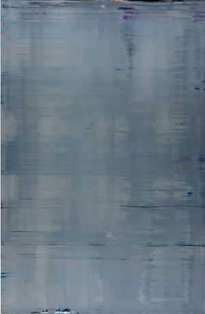 Richter-Gerhard-Abstract-Painting-(Grey)-(880-3)-2002-oil-on-aluminum-Tate