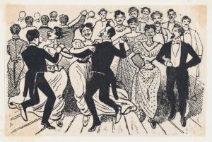 Posada-José-Guadalupe-Los-41-maricones-encontrados-en-un-baile-de-la-Calle-de-la-Paz-el-20-de-Noviembre-1901-etching-Metropolitan-Museum-of-Art-New-York
