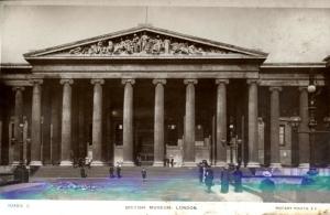 Rotary-Photo-British-Museum-London-c1920-photographic-postcard-British-Museum-c