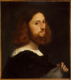 Titian-Portrait-of-a-Man-c1515-oil-on-canvas-(cut-down-and-seriously-abraded)-Metropolitan-Museum-of-Art-New-York