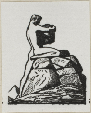 Kent-Rockwell-Logo-for-The-Colophon-(journal)-1930-relief-print-Philadelphia-Museum-of-Art