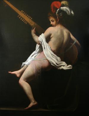 Baglione-Giovanni-Muse-Terpsichore-Dance-1620-oil-on-canvas-Musée-des-Beaux-Arts-d'Arras
