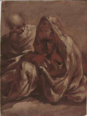 Caula-Sigismondo-Two-seated-figures-before-1713-drawing-Metropolitan-Museum-of-Art-New-York