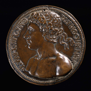 Boldù-Giovanni-di-Pasqualino-Self-portrait-c1458-bronze-medal-(painter-of-Venice)-Museum-of-Fine-Arts-Boston