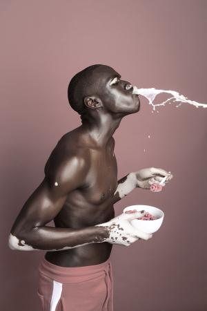 0-photographer Justin Dingwall collab w model Moostapha Saidi
