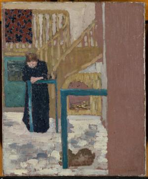 Vuillard-Édouard-Madame-Vuillard-in-a-set-designer's-studio-1893-94-oil-on-canvas-Metropolitan-Museum-of-Art-New-York