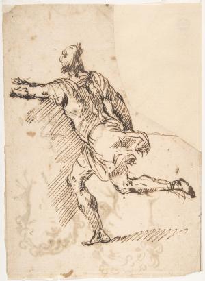 Spadaro-Micco-Male-figure-running-before-1675-drawing-Metropolitan-Museum-of-Art-New-York