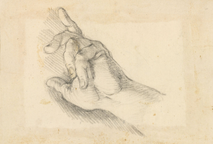 Ricci-Sebastiano-Study-of-right-hand-before-1734-drawing-Royal-Collection