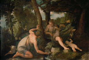 Veronese-Paolo-and-workshop-Adam-and-Eve-after-the-Expulsion-from-Paradise-c1580-88-oil-on-canvas-Kunsthistorisches-Museum-Vienna
