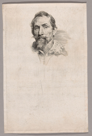 Van-Dyck-Anthony-Portrait-of-Frans-Snyders-c1630-33-etching-Art-Institute-of-Chicago
