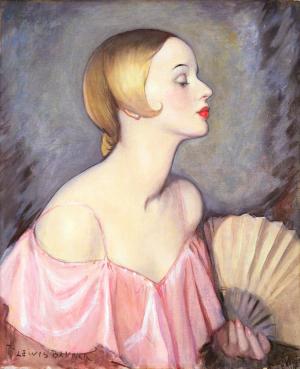 Baumer-Lewis-Eileen-c1925-oil-on-canvas-Mercer-Art-Gallery-Harrogate-Yorkshire