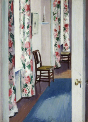 Cadell-Francis-Chintz-Curtains-1911-oil-on-board-Gracefield-Arts-Centre-Dumfries-Scotland