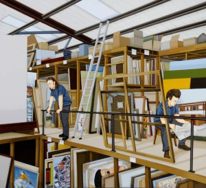 Evans-Geraint-Art-Store-c2002-acrylic-on-board-Ferens-Art-Gallery-Kingston-upon-Hull