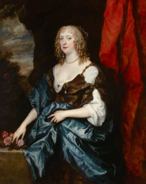 Van-Dyck-Anthony-Portrait-of-Catherine-Bruce-(Mrs-William-Murray)-before-1641-oil-on-canvas-National-Trust-Petworth-House-Sussex