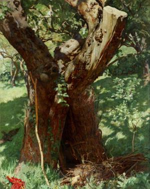 Eden-William-Denis-The-Old-Apple-Tree-1914-oil-on-canvas-Walker-Art-Gallery-Liverpool
