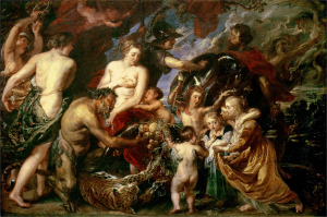 Rubens-Peter-Paul-Peace-and-War-(Minerva-protecting-Peace-from-Mars)-c1629-30-oil-on-canvas-National-Gallery-London